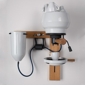 Porcelain Espresso Machine by Arvid Häusser