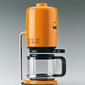 Braun KF20 Aromaster, a Retro-Futuristic Coffee Maker Design