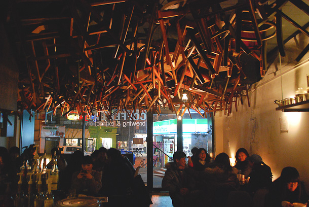 Korean Cafe Interior Design