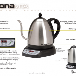 Find of the Day: Bonavita Variable Temperature Kettle
