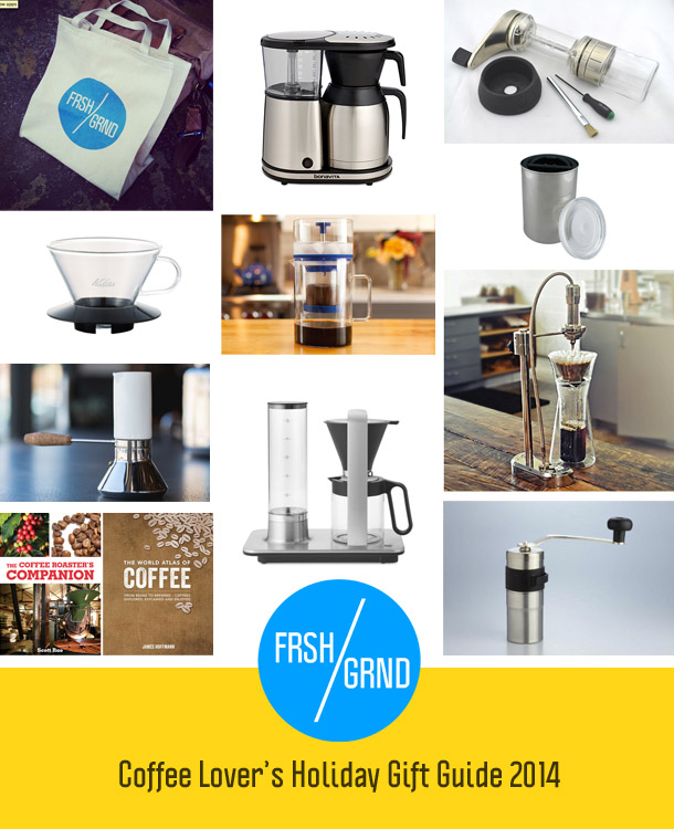 FRSHGRND Coffee Lover's Holiday Gift Guide 2014
